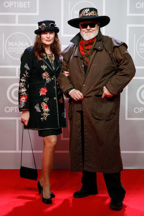 Eriko Ovčarenko / 15min nuotr./Virgis Stakėnas su žmona Ramute