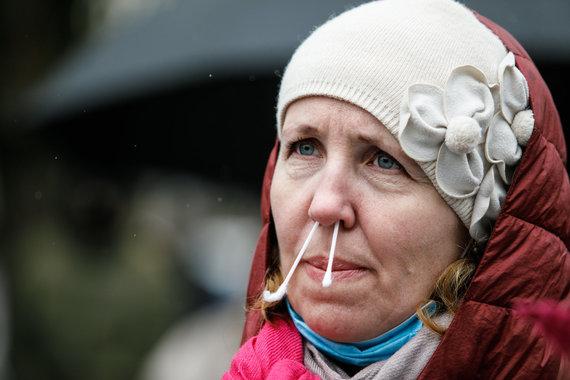 Eriko Ovčarenko / 15min nuotr./Pradinukų tėvų protestas