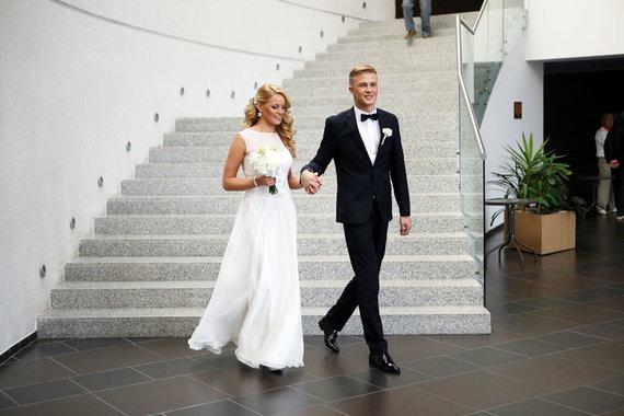 Eriko Ovčarenko/15min.lt nuotr./Paulius Bagdanavičius ir Lina Gasparavičiūtė