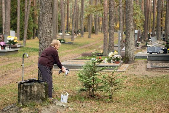 Eriko Ovčarenko / 15min nuotr./Darbai kapinėse