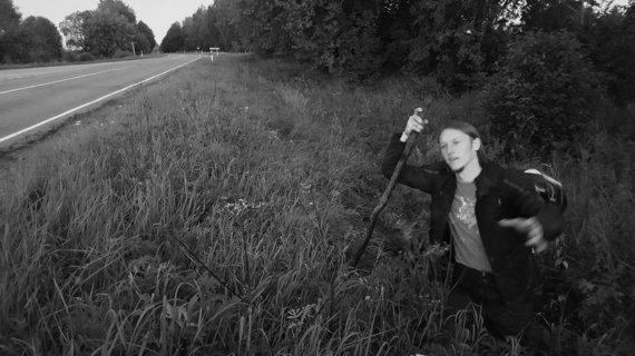 Tomo Grigalevičiaus nuotr./Evaldas Virketis ieško pamesto fotoaparato