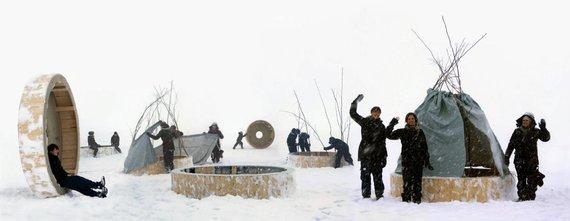 Marco Casagrande nuotr./Žmonių inkilų dirbtuvės