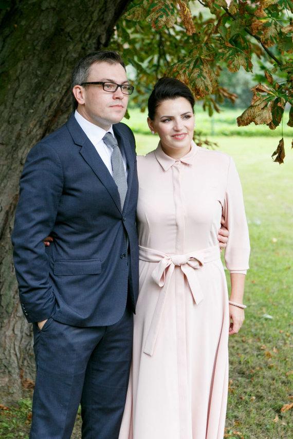 Eriko Ovčarenko / 15min nuotr./Viktoras Jakovlevas ir Renata Šakalytė-Jakovleva