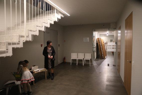 Eriko Ovčarenko / 15min nuotr./Vaikų žaidimų erdvė laidojimo namuose