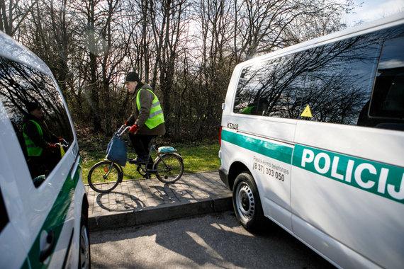 Eriko Ovčarenko / 15min nuotr./Kauno policininkai gavo naujus automobilius