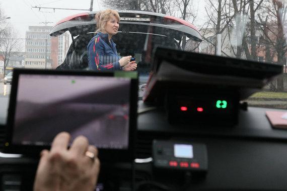 """Eriko Ovčarenko / 15min nuotr./KET pažeidusi """"Audi"""" vairuotoja"""