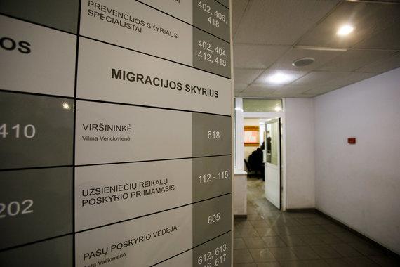 Eriko Ovčarenko / 15min nuotr./Kauno migracijos skyriuje