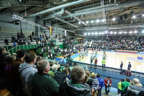 Eriko Ovčarenko / 15min nuotr./Kauno sporto halė