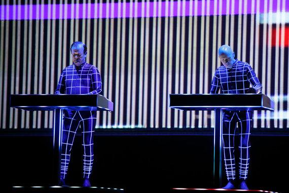 "Eriko Ovčarenko / 15min nuotr./""Kraftwerk"" koncertas Kaune"