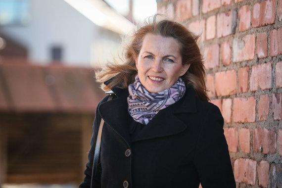 Eriko Ovčarenko / 15min nuotr./Žanna Jankovskaja, Kauno hospiso namų įkūrėja