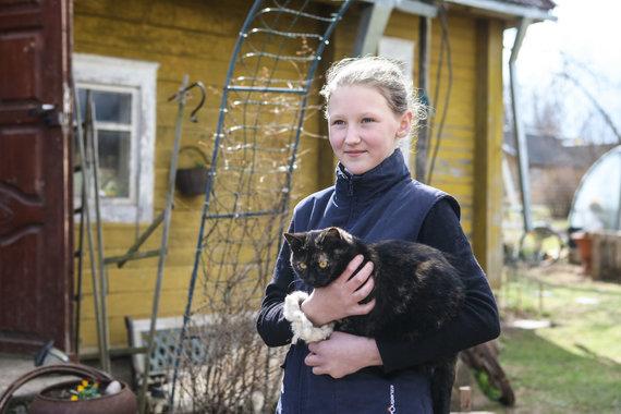 Eriko Ovčarenko / 15min nuotr./ Monikos dukra su Mėlyne