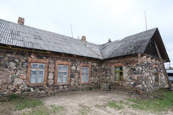 Eriko Ovčarenko / 15min nuotr./Užpalių dvaro pastatų ansamblio likučiai
