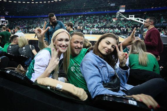 Žygimanto Gedvilos / 15min nuotr./Gintarė Songailė, Mantas Katleris ir Aistė Kabašinskaitė