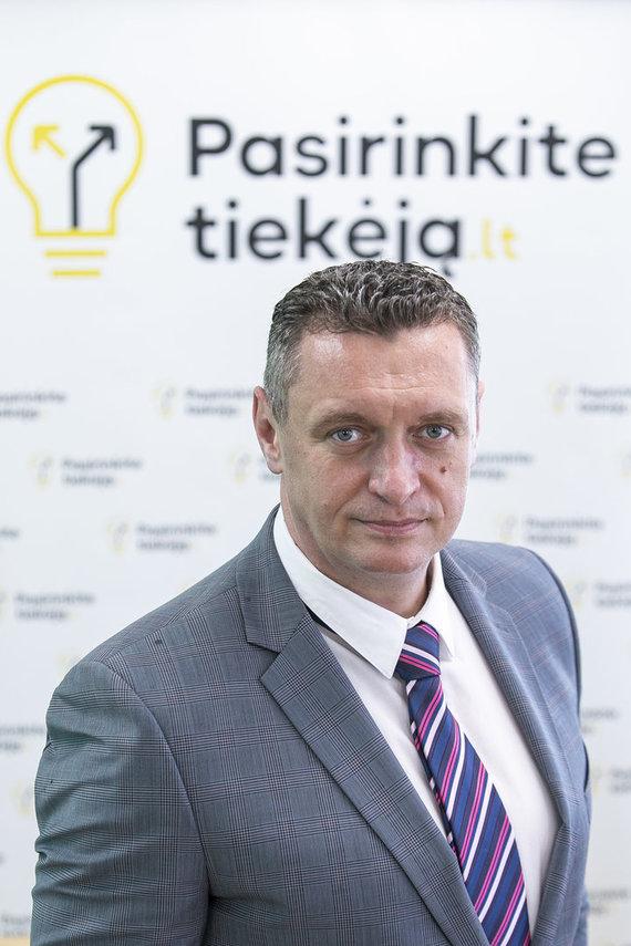 """Bendrovės """"Energijos skirstymo operatorius"""" nuotr./ESO Paslaugų tarnybos direktorius Renaldas Radvila"""