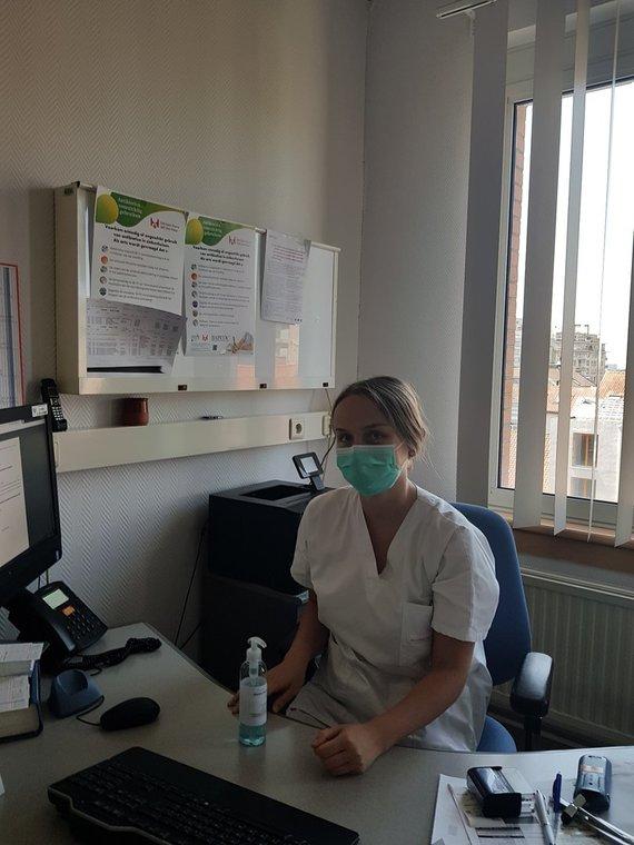 Asmeninė nuotr./Briuselyje dirbanti gydytoja neurologė Laura Šinkūnaitė