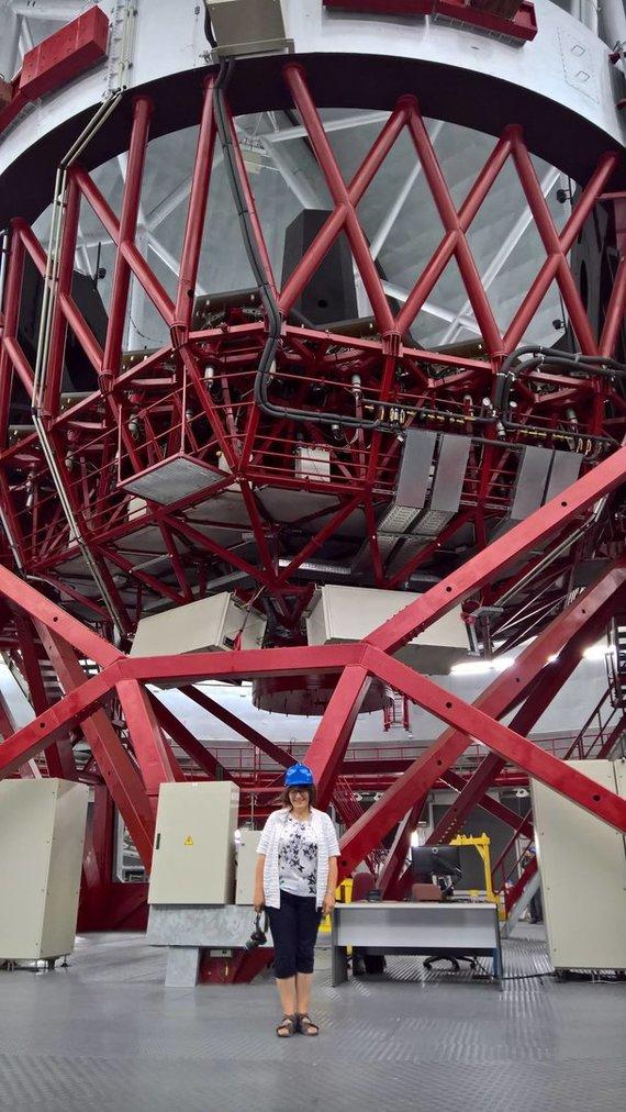 Asmeninė nuotr./Didysis teleskopas Kanarų observatorijoje