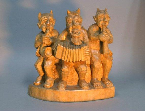 Vienas iš tūkstančių Velnių muziejaus eksponatų.