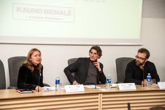 Jono Petronio nuotr./Kauno bienalės' 2015 pristatymas