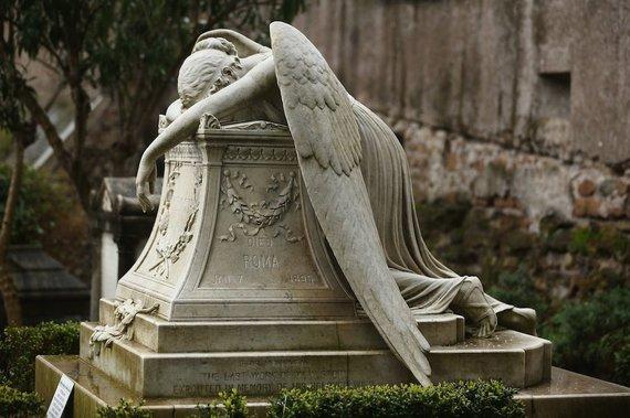 it.wikipedia.org nuotr/Cimitero Acattolico kapinės Romoje