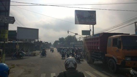 V.Panovaitės nuotr./Eismas Indonezijoje