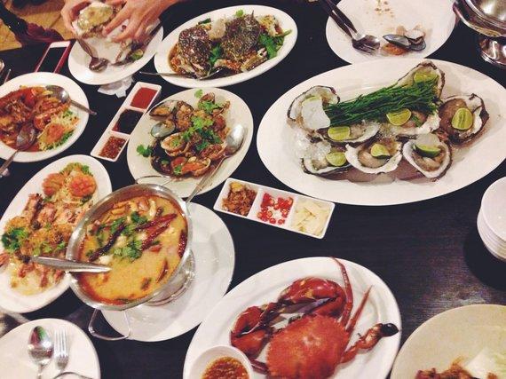 Asmeninio albumo nuotr./Maisto įvairovė Tailande