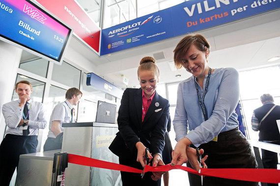 """Bendrovės nuotr./Iš Vilniaus """"Wizz Air"""" lėktuvai skraidins dar 5 kryptimis"""