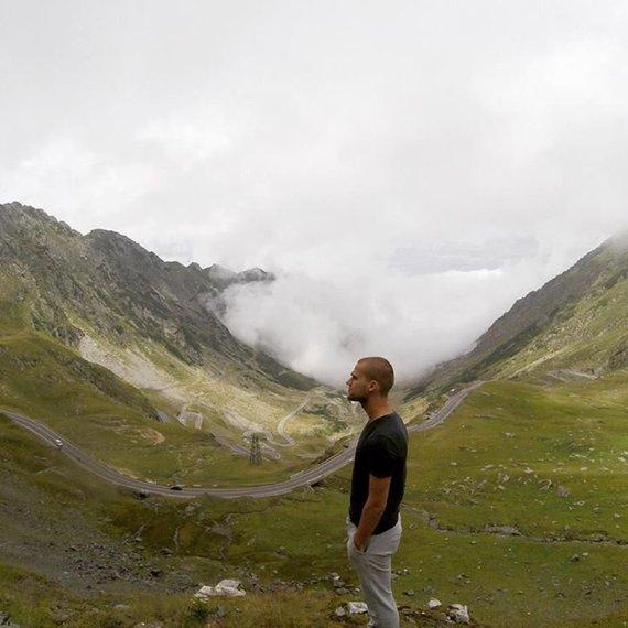 Jokūbo Laukaičio nuotr./Vienas pavojingiausių ir gražiausių kalnų kelių Europoje – Transfagarasan