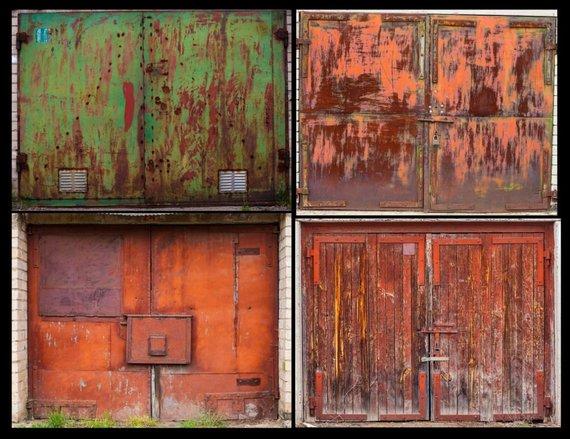 Agnės Gintalaitės nuotr./Ar kada žiūrėjote į garažų duris kaip į meno kūrinius?