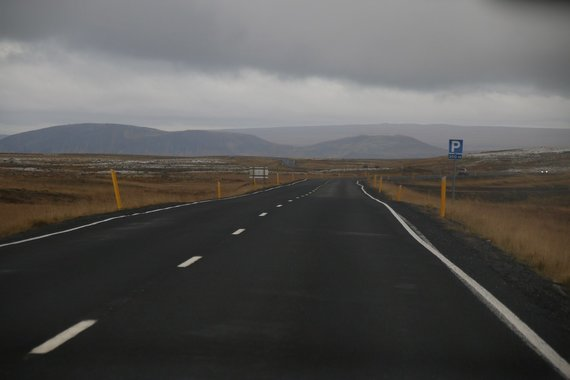 Martyno Ragausko nuotr./Islandijos vaizdai per automobilio langą