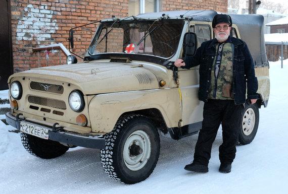 Ričardo Grigo nuotr./Petro Vaišvilos darbo automobilis