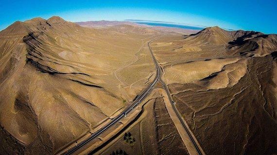 Karolio Žukausko nuotr./Fuerteventura iš drono