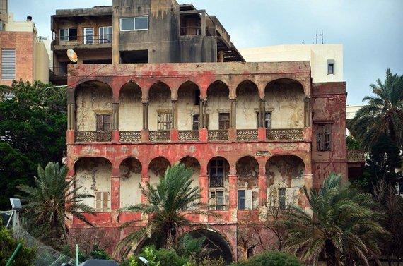 Janos Nosovos nuotr./Beiruto namas-vaiduoklis