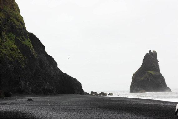 Kristinos Vard nuotr./Juodojo smėlio paplūdimys