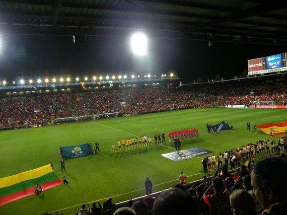 Oksanos Buzmakovos nuotr./Salamanka stadionas