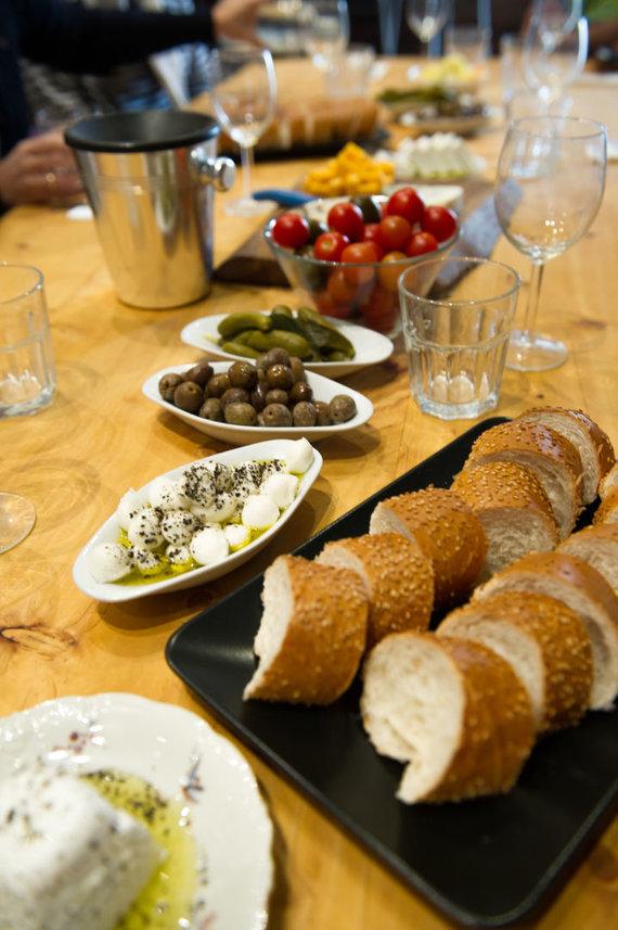 Nidos Degutienės nuotr./Izraelio virtuvė kaip reta turtinga