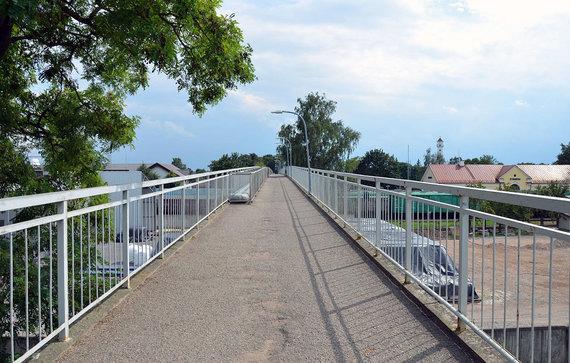 VšĮ Gatvės gyvos nuotr./Kybartų tiltas