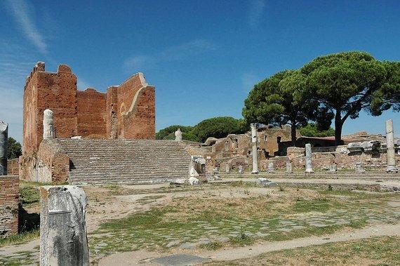 Wikipedia.com/Ostijos miestelyje esantis Kapitolijus