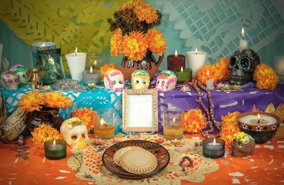 Shutterstock.com/Meksika: altorėlis namuose