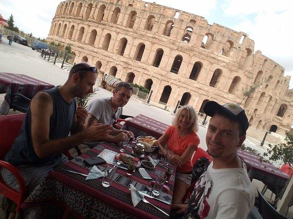 Vaido Mikaičio nuotr./El Džemo amfiteatras iš išorės