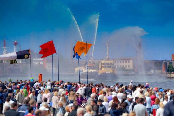 Arčio Gustovskio, Sandrio Kuzmickio nuotr./Ventspilyje kasmet vyksta Jūros šventė