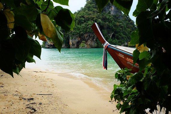 Karolio Žukausko nuotr./Mini paplūdimys Tailande
