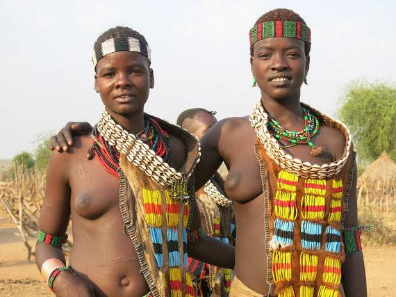 Gabrielės Štaraitės/ Travel Planet nuotr./Įdomiausi kelionėse žmonės, ypač tokie spalvingi kaip Etiopijoje