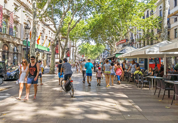 123rf.com /La Rambla – vieta, į kurią anksčiau ar vėliau ateina visi Barselonos lankytojai