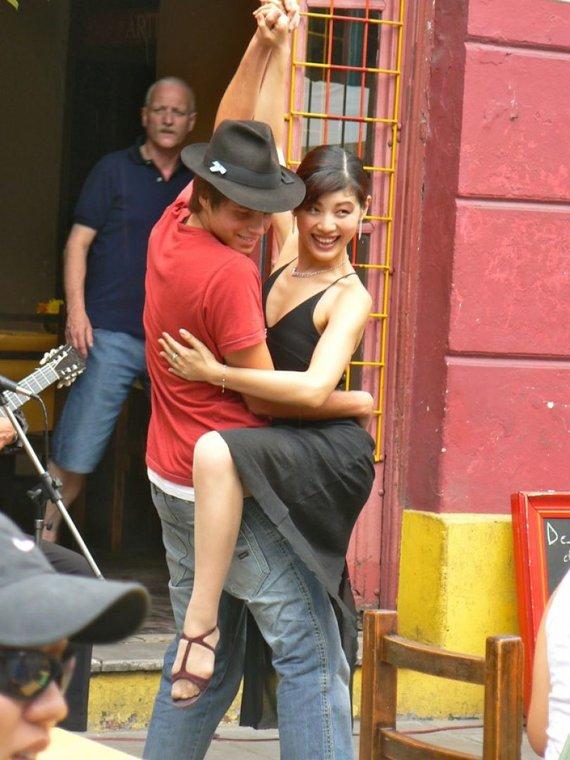 123rf.com /Tango Buenos Airės gatvėse