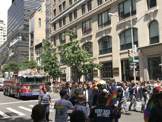 Asmeninė nuotr./Galingasis LGBT paradas Niujorke