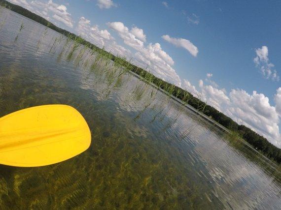 """""""Active Trips"""" nuotr./Ekspedicijos """"Baidarė upėje"""" dalyviai"""