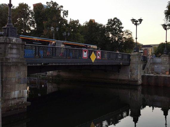 Aurelijos Jašinskienės/15min.lt nuotr./Klaipėdos Biržos tiltas