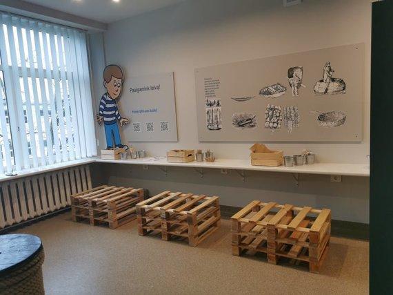 """Jūrų muziejaus nuotr./Jūrų muziejaus ekspozicija """"Kodėl laivas plaukia?"""" tapo Klaipėdos jūrų kadetų mokyklos edukacinės erdvės pagrindu."""
