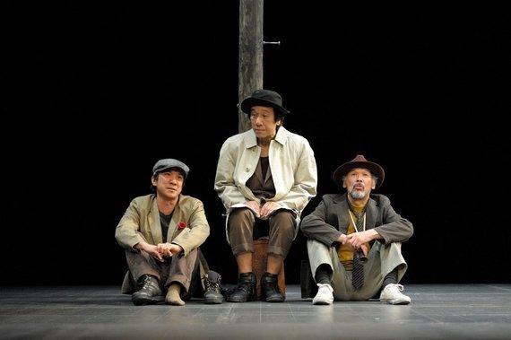 "Matsumoto Kazuyuki nuotr./Spektaklis ""Godo atvyko"""