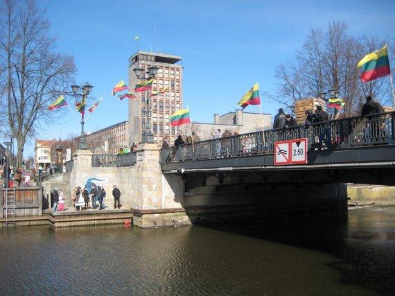 Aurelijos Kripaitės/15min.lt nuotr./Biržos tiltas
